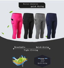 Load image into Gallery viewer, Women High Waist Capris Workout Legging with Pockets