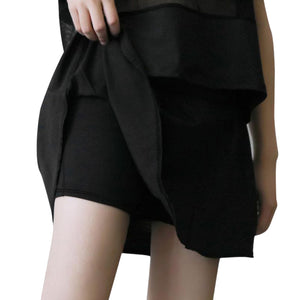 Women Yoga Skirt with Shorts Underneath Athletic Stretchy Tennis Skort