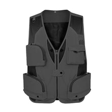 Load image into Gallery viewer, Men Fishing Vest Waterproof Mesh Waistcoat Multi Pockets Outdoor Gilet