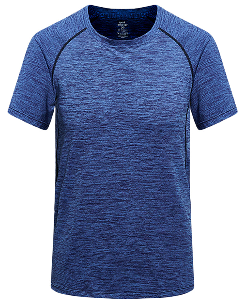 Men's UV Protection Athletic Shirts Short Sleeve Quick Dry T-Shirt