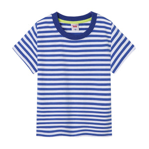 Kids Boys GirlsT-Shirt Slim Fit Crewneck Shirts Summer Soft Tees Tops