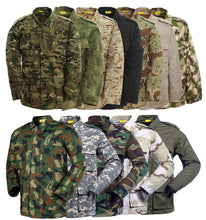 Cargar imagen en el visor de la galería, Men's Tactical BDU Uniform Combat Military Jacket Coat and Pants Set