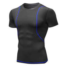 Load image into Gallery viewer, Mens Performance Shirts Moisture Wicking Breathable Quick Dry Lightweight Workout Running Base Layer
