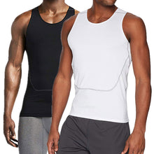 Load image into Gallery viewer, Men's Breathable Sport Vest Sleeveless Compression Tank Top