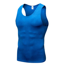 Carregar imagem no visualizador da galeria, Men Cycing Base Layer Tank Quick Drying Compression Tops