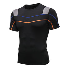 Carregar imagem no visualizador da galeria, Mens Basketball Compression Shirt Lightweight Breathable Cool Dry Moisture Wicking Workout Active Shirts