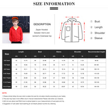 Cargar imagen en el visor de la galería, Kids Zip Up Hooded Sweatshirt Boys Girls Plain Hoodie Age 5-14 Years