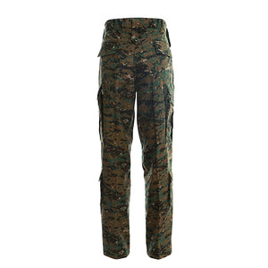 Mens Tactical Pants Military Camo Combat Trousers Hiking Paintball