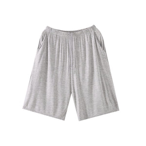Mens Lounge Shorts Comfortable Sleep Pajama Bottoms with Pockets
