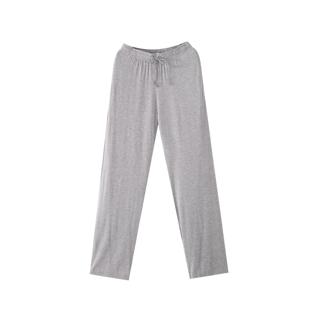 Mens Lounge Sleep Pants Comfort Pajama Bottoms with Pockets Soft Modal Trousers