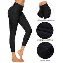 Load image into Gallery viewer, Women's Yoga Capri Leggings High Waisted Workout Tummy Control Pants