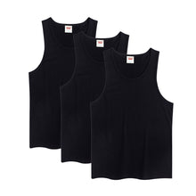 Carregar imagem no visualizador da galeria, Boys Toddler Kids Sleeveless T-shirts Undershirts 3-pack Cotton Tank Base Layer Tops
