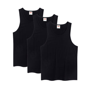 Boys Toddler Kids Sleeveless T-shirts Undershirts 3-pack Cotton Tank Base Layer Tops