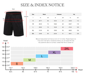 Mens Workout Running Shorts Sports Fitness Gym Training Quick Dry Athletic Performance Shorts with Pockets