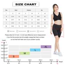 Load image into Gallery viewer, Womens High Waist Workout Shorts with Pockets Yoga Running Compression Shorts