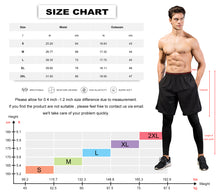 Carregar imagem no visualizador da galeria, Mens Athletic Running Shorts Quick Dry Gym Shorts with Pockets Workout Pants
