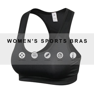 Sport Bra Tank Tops For Women Padded Workout Bra Racerback Sports Bras Yoga Running Fitness Activewear Tops