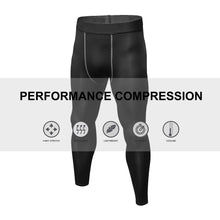 Load image into Gallery viewer, Mens Compression Pants Running Tights Quick Dry Workout Athletic Gym Leggings