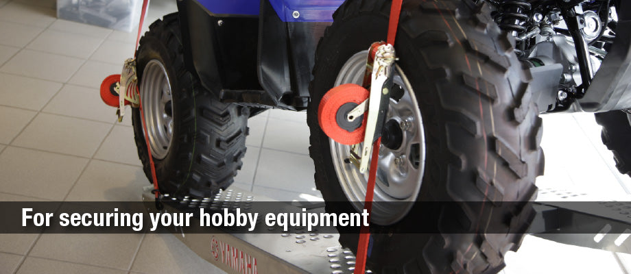 secure your atv with quickloader retractable