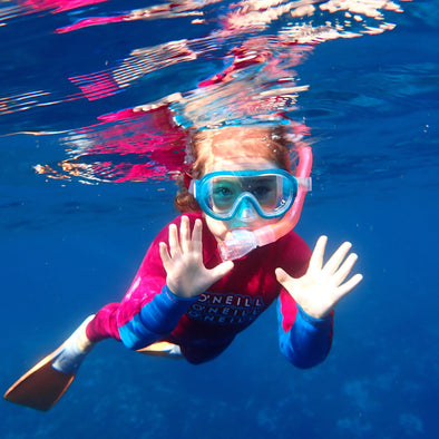 Mask, Snorkel & Fin Hire