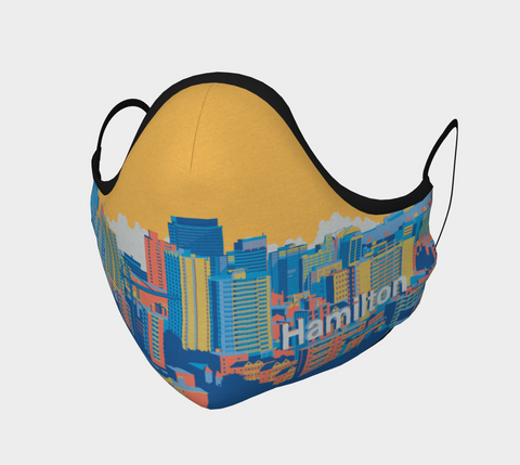 HAMILTON SKYLINE YELLOW MASK