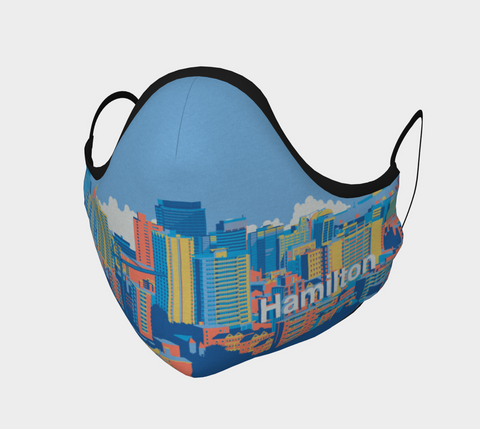 HAMILTON SKYLINE BLUE MASK
