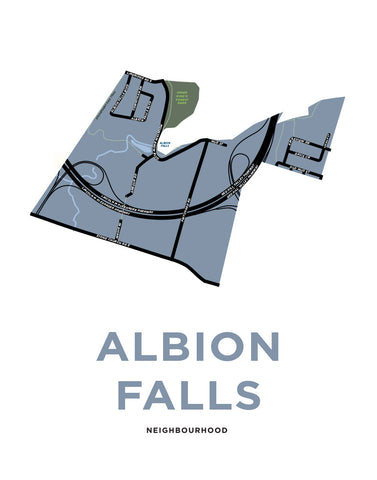 Albion Falls Neighbourhood Map