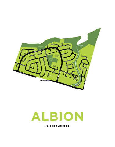 Albion Neighbourhood Map