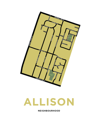 Allison Neighbourhood Map