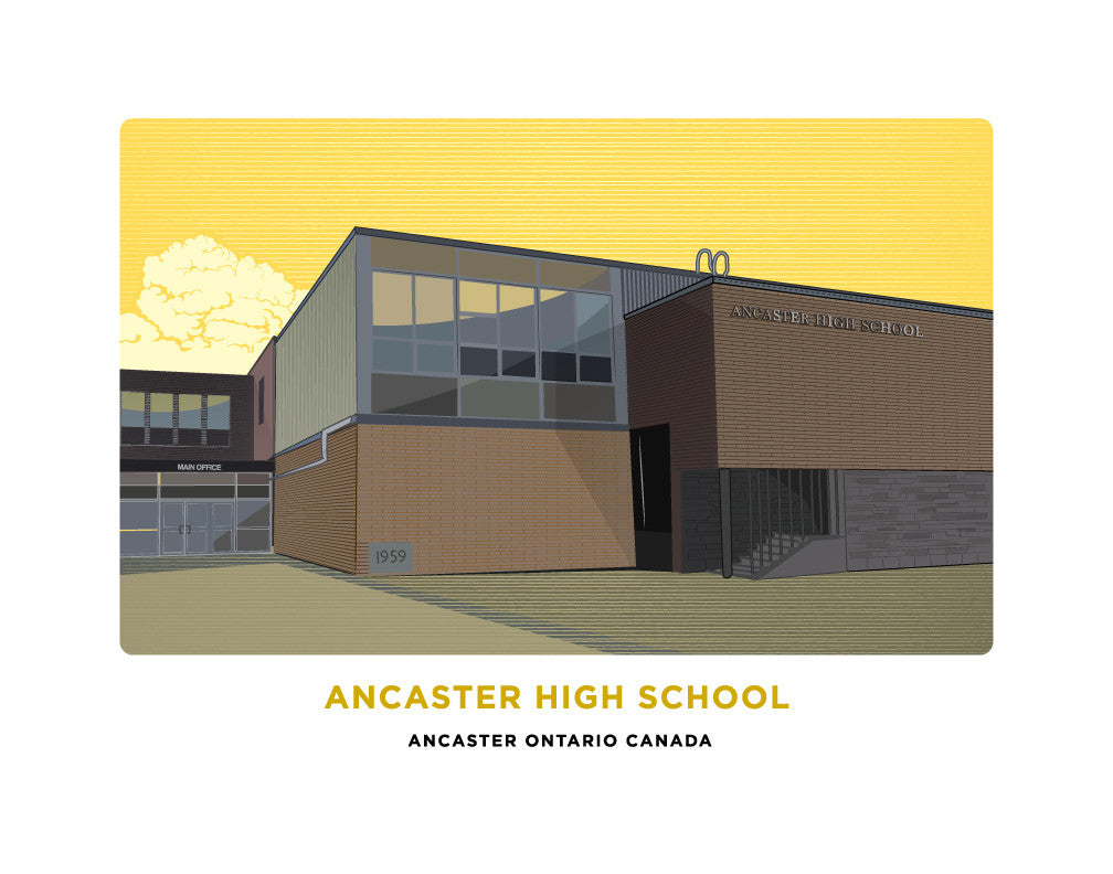 Ancaster High School Print