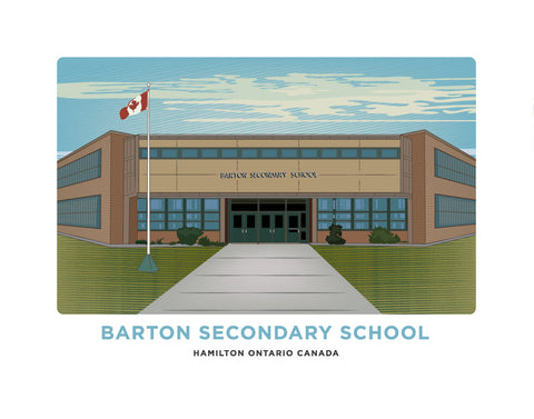 Barton Secondary School Print