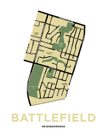 Battlefield Neighbourhood Map