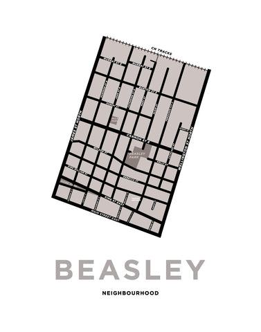 Beasley Map - Custom Colour