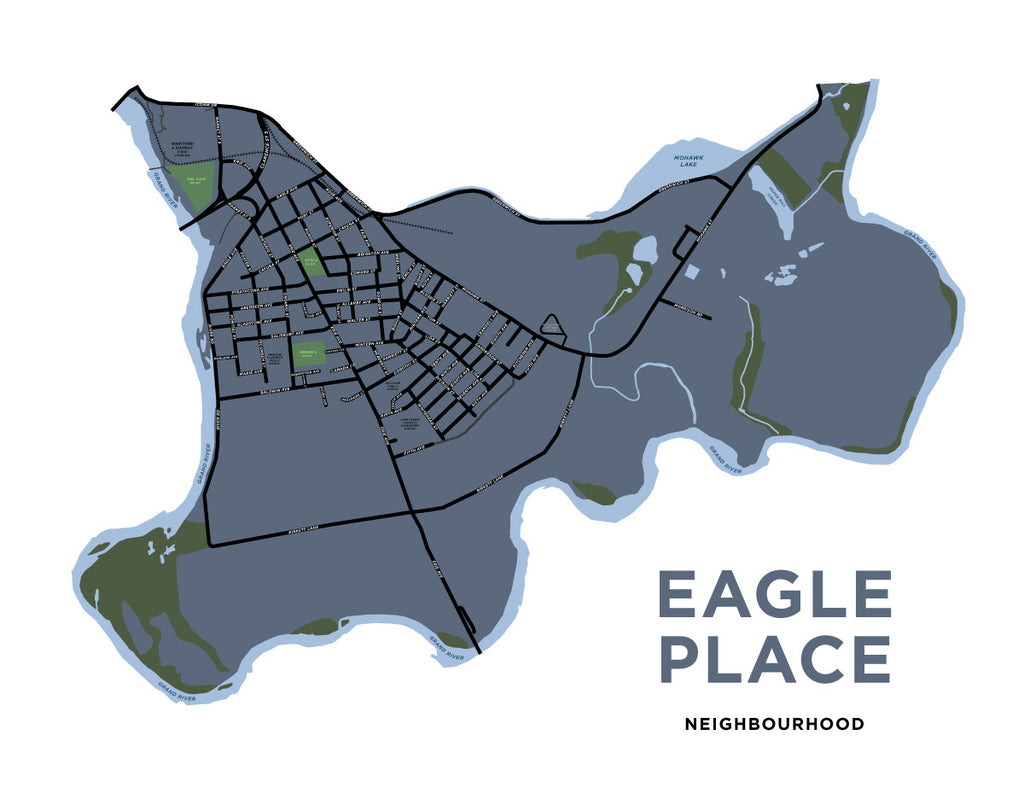 Eagle Place Neighbourhood Map Jelly Brothers
