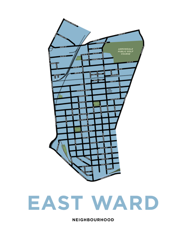 East Ward Neighbourhood Map
