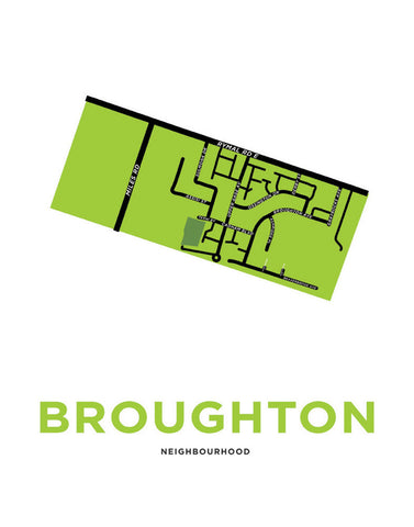 Broughton Neighbourhood Map