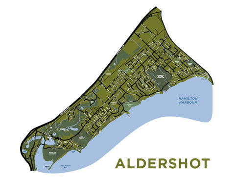 Aldershot Neighbourhood Map