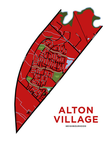 Alton Village Neighbourhood Map