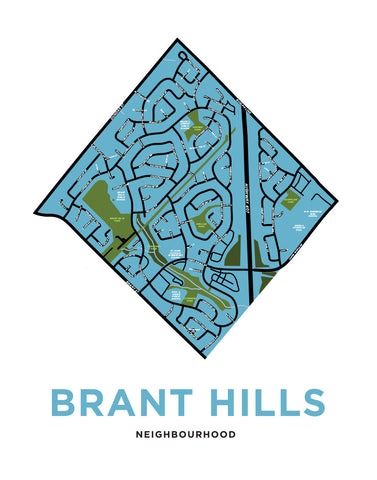 Brant Hills Neighbourhood Map
