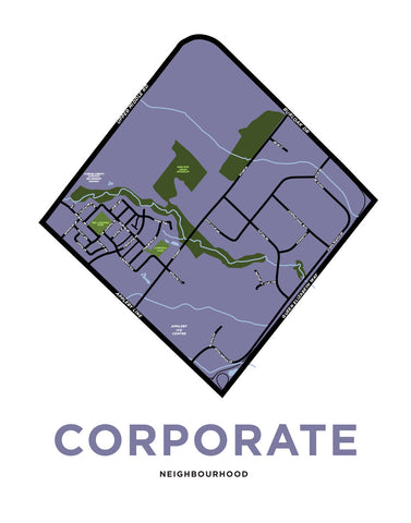 Corporate Neighbourhood Map