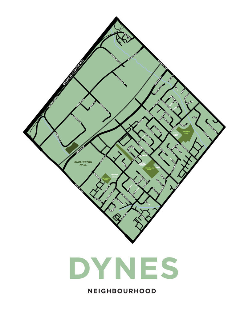 Dynes Neighbourhood Map