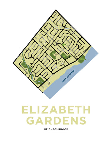 Elizabeth Gardens Neighbourhood Map