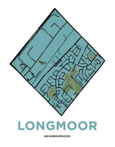 Custom Longmoor Neighbourhood Map
