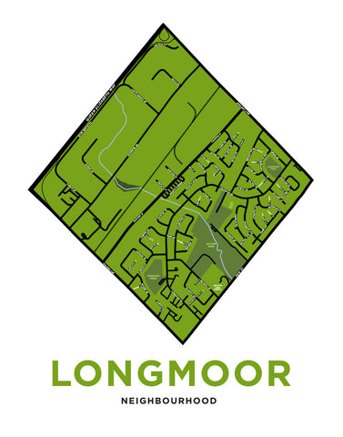 Longmoor Neighbourhood Map