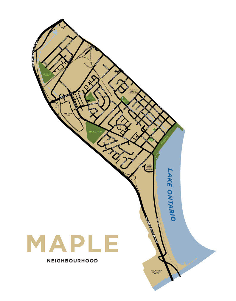 Maple Neighbourhood Map