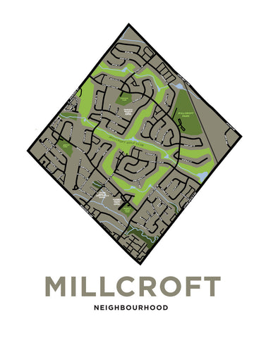 Millcroft Neighbourhood Map