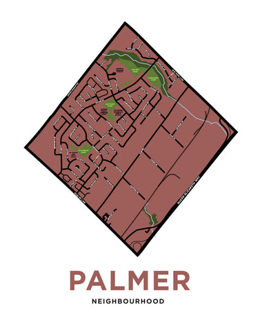 Palmer Neighbourhood Map