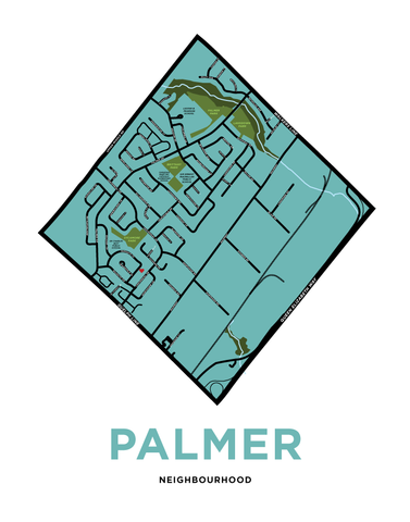 Palmer Neighbourhood Map - Custom