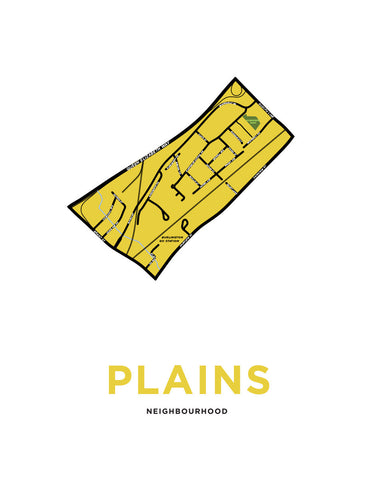Plains Neighbourhood Map
