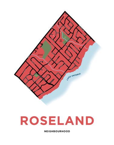 Roseland Neighbourhood Map